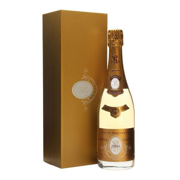 Louis Cristal brut 2006, gift box