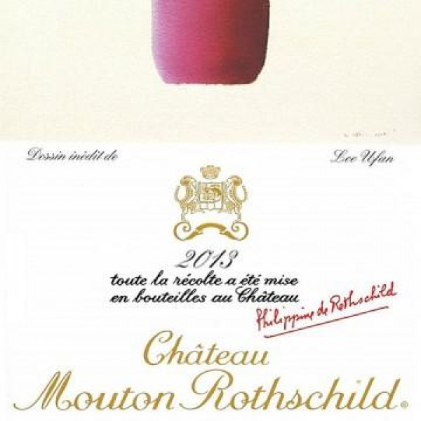 Chateau Mouton Rothschild 2013 1.5L